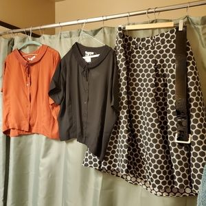Female Plus Sized Retro Wear